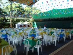 Festa Junina no Sítio Arvoredo
