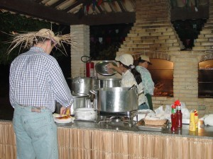 Buffet de Festa Junina no Sítio Arvoredo